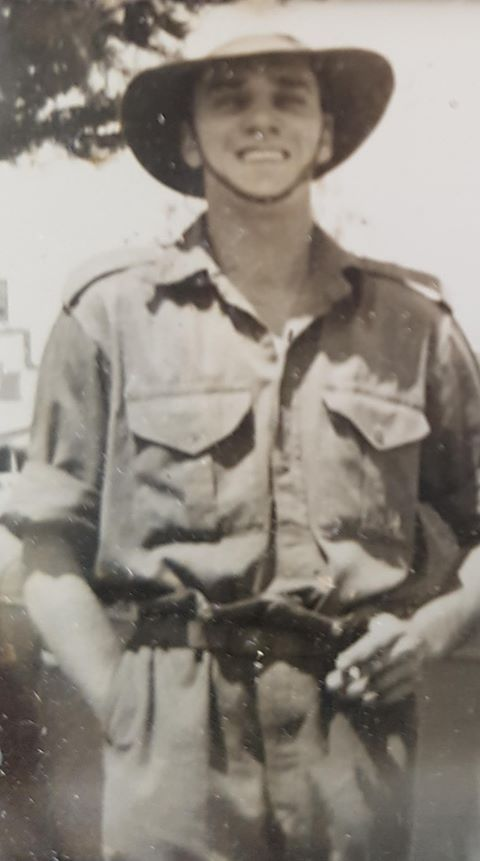 Harry Brown, who served in the Second World War.