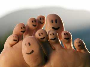 Tips for much happier feet and toes