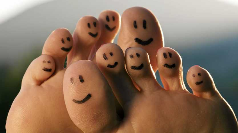HAPPIER TOES: Taking better care of your feet will ensure you have pain-free movement.