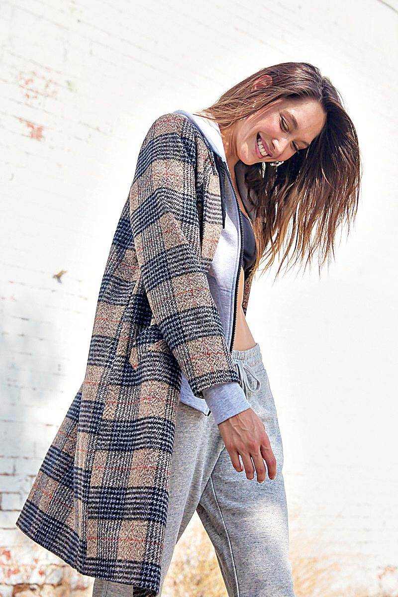 New mid-length coat, $79.99, from Cotton On.