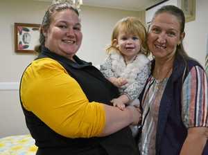 'Mum's healing hands helped me conceive my daughter'