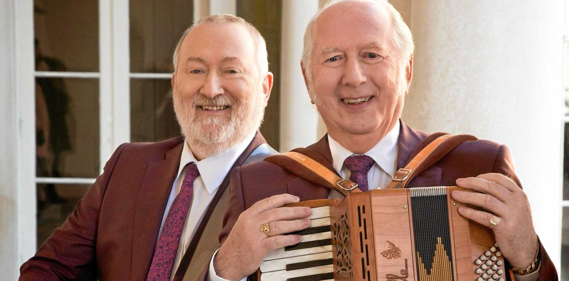 Irish duo Foster and Allen is back for a milestone 20th tour of Australia.