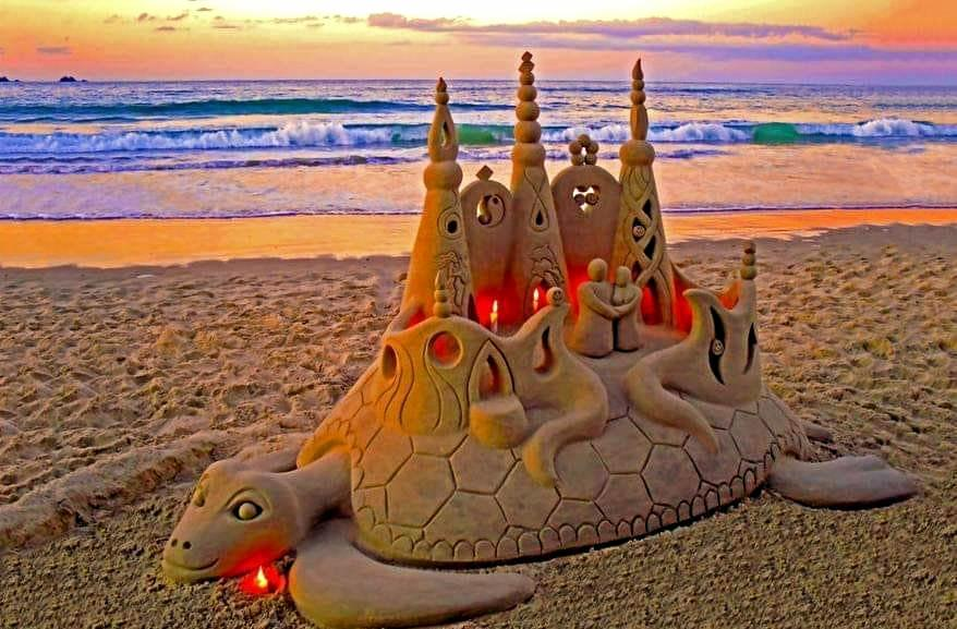 EPIC: Picturesque sand sculptures by Sandology are just one of the awesome things to see and do at Youth culture festival, Crankfest which kicks off today at Evans Head at 8am.