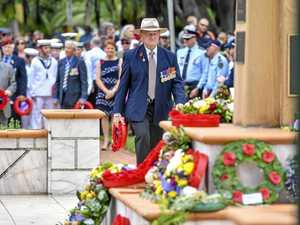 PHOTOS: Rain doesn't stop Anzac tribute in town