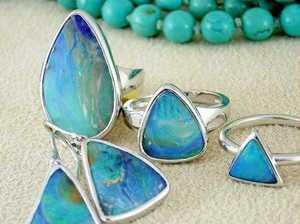 Opals present a distinctly Australian beauty