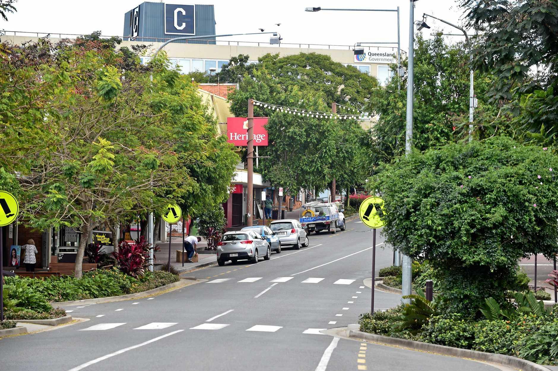 Nambour street scene. Lowe st Nambour. Photo: Che Chapman / Sunshine Coast Daily