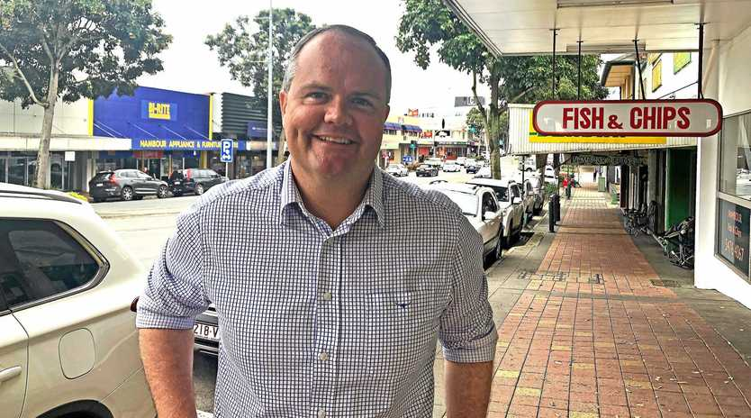 Fairfax MP Ted O'Brien has pledged $500,000 to revitalise the Nambour CBD if re-elected.