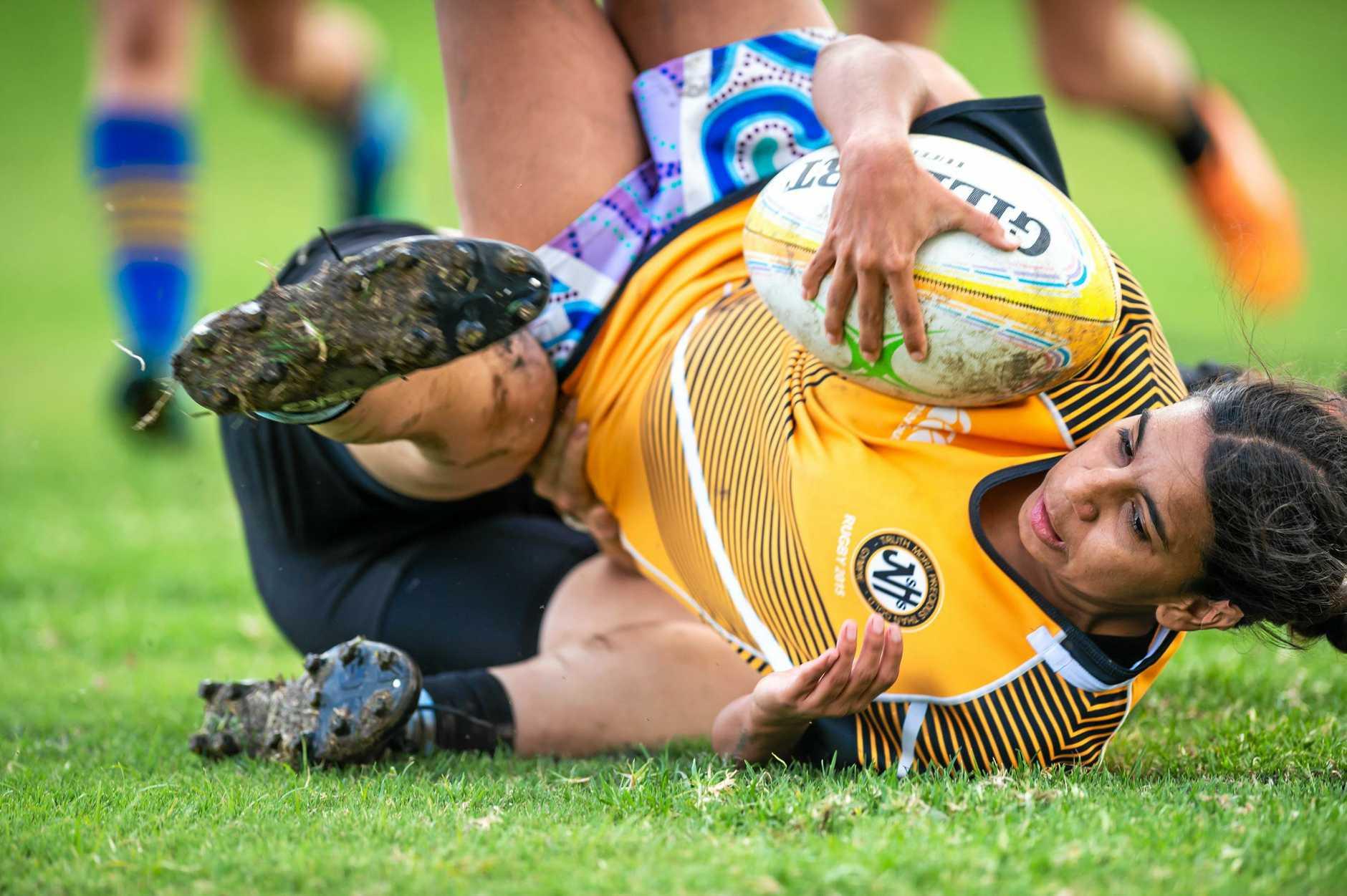Rugby Union - Gympie Hammers Ladies Shakeya Baker