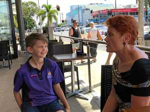 This Mackay boy has a passion for politics