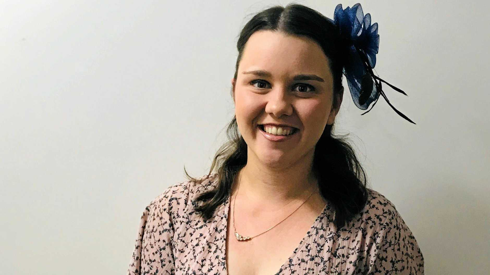 SHOW TIME: South Burnett Times journalist Jessica McGrath was named the 2019 Kingaroy Miss Showgirl.