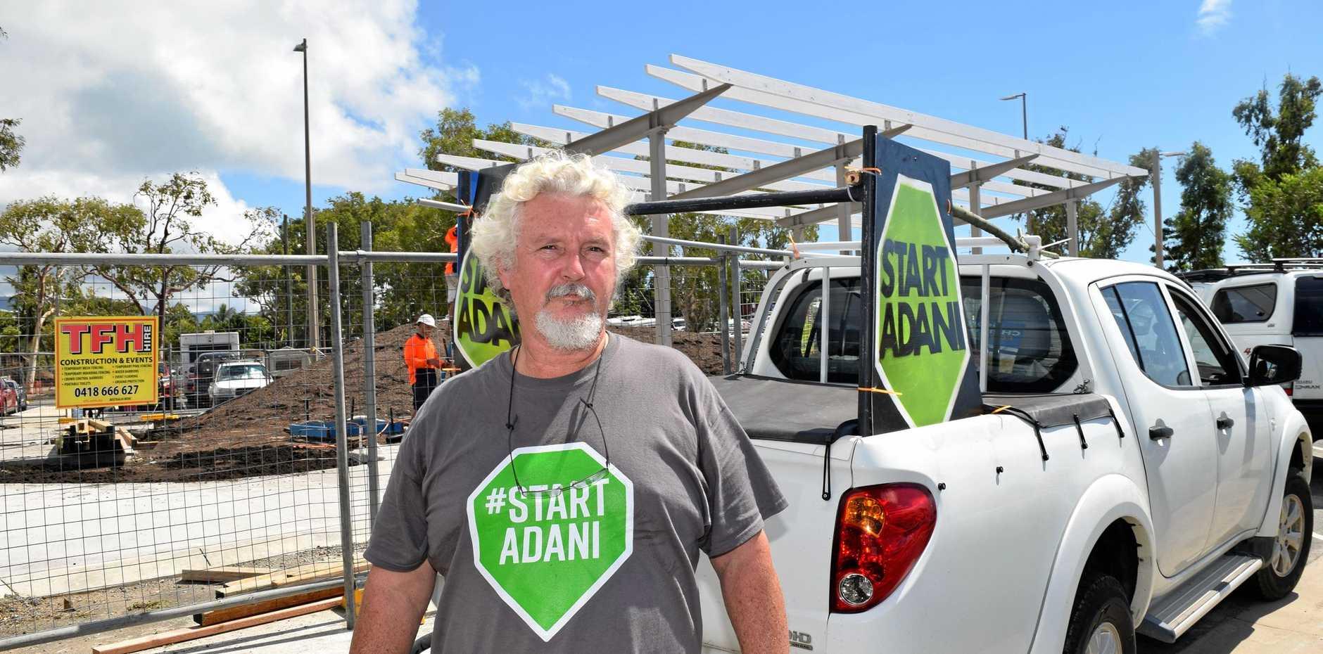 CALL TO ACT: Shane Newell wants the Adani Carmichael coal mine to go ahead.