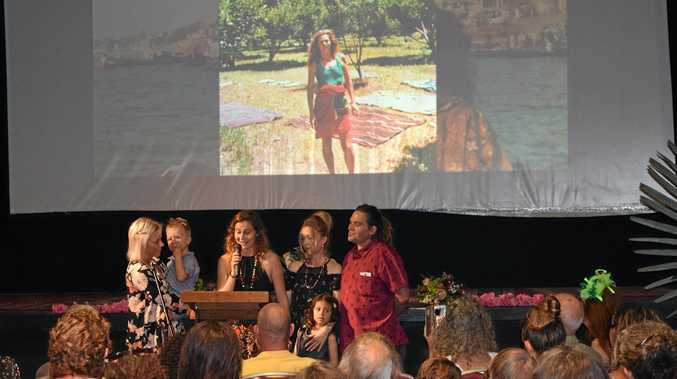 'The spirit of Nimbin' farewelled in moving ceremony
