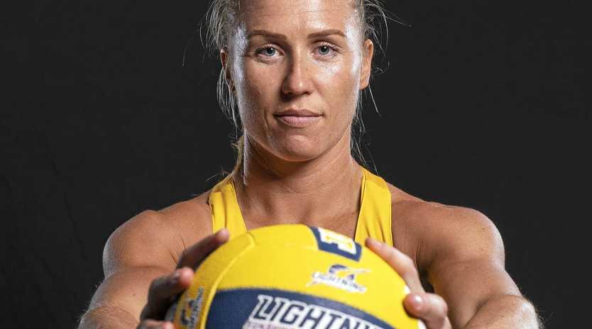 CAPTAIN: Sunshine Coast Lightning leader Laura Langman