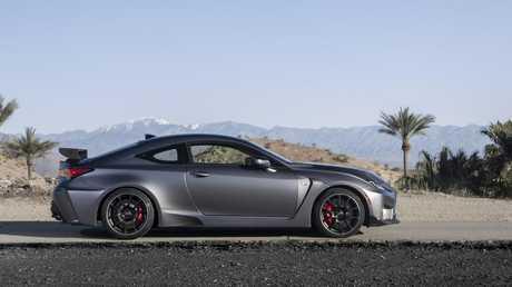 Lexus RC F Track Edition.