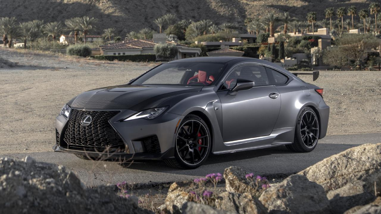 The Lexus RC F Track Edition drops 0-100km/h time by 0.2 seconds.