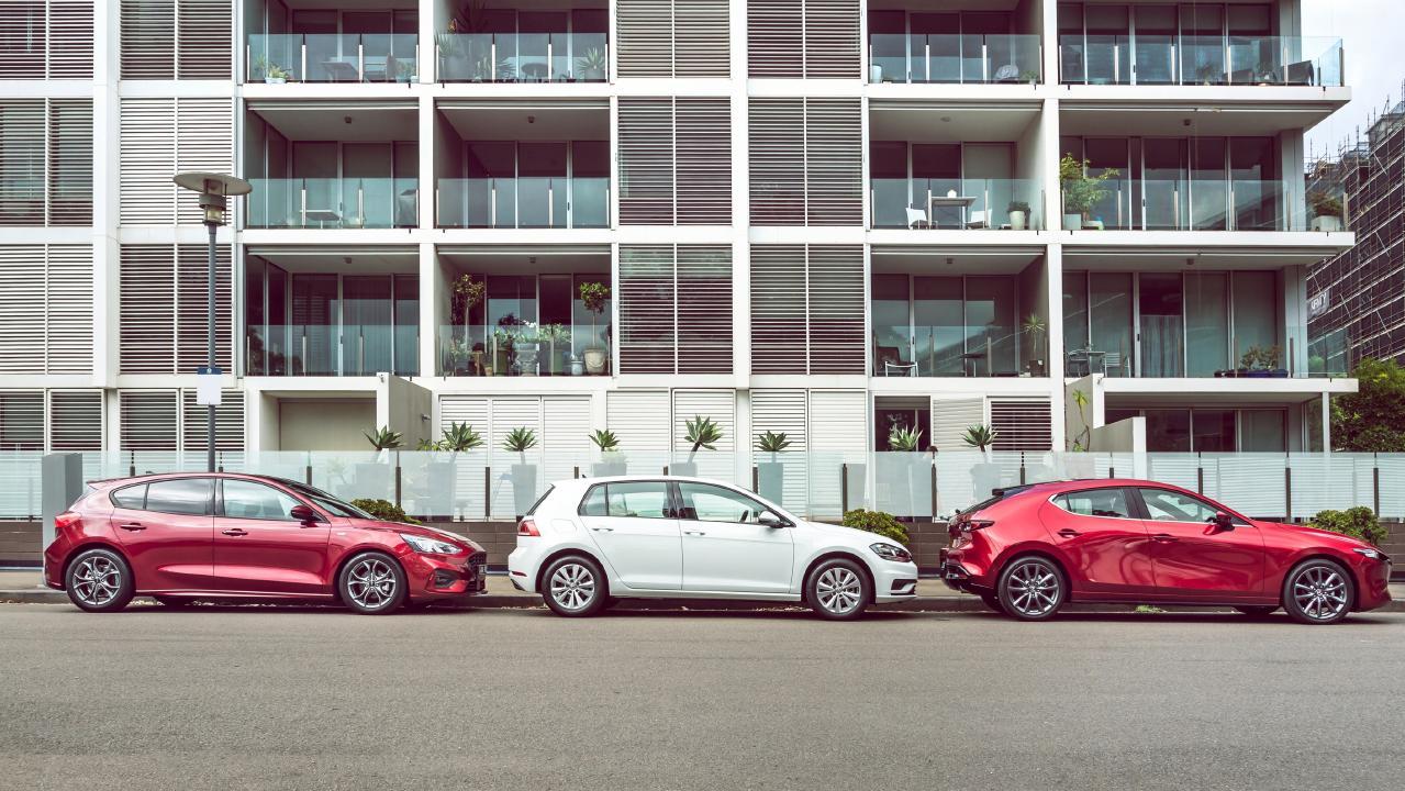 All three vehicles are quality options. Photo: Thomas Wielecki.