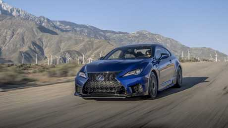 Lexus has ripped out 65kg from the RC F.