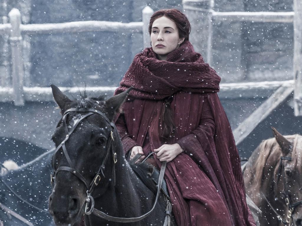 Melisandre could return to her most common form in the next episode during the Great Battle of Winterfell. Picture: HBO via Foxtel