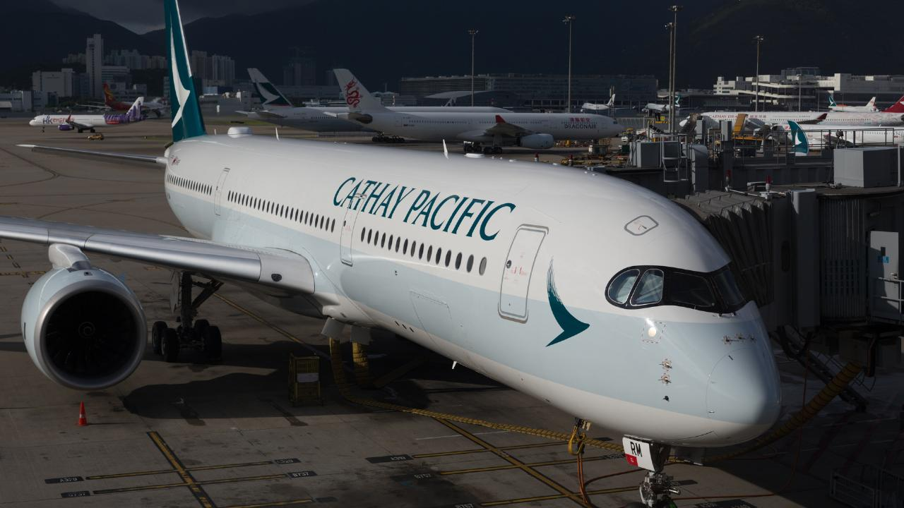 A pilot on flying a Cathay Pacific aircraft from Perth to Hong Kong became unwell with about an hour left on the flight.