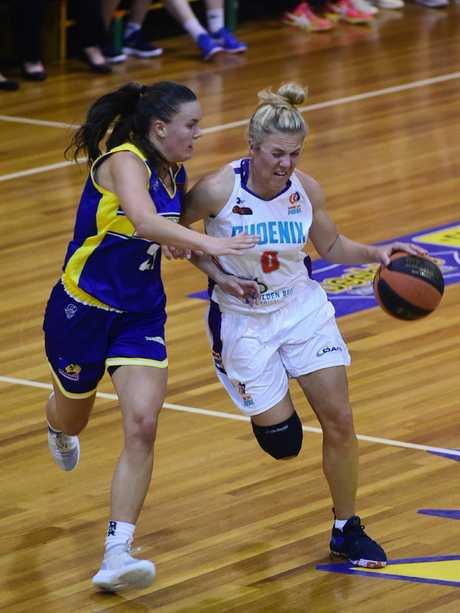 Phoenix player Amy Browne.