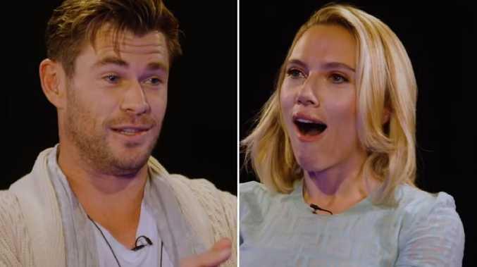 Hemsworth's brutal ScarJo insult