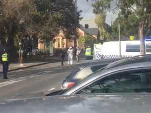 Terror cops swoop on Melbourne church