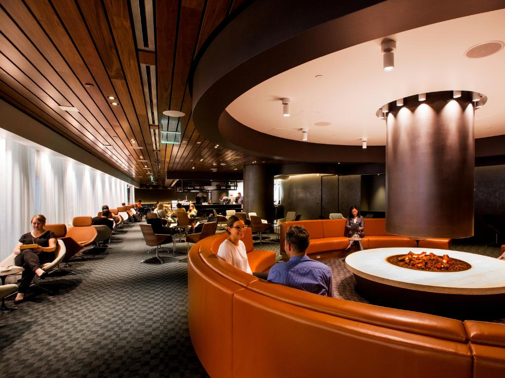The Qantas Chairman's Lounge is one of the country's few invitation-only VIP clubs.