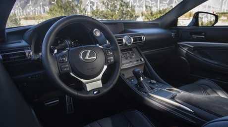The cabin is dominated by a large 10.3-inch centre screen.