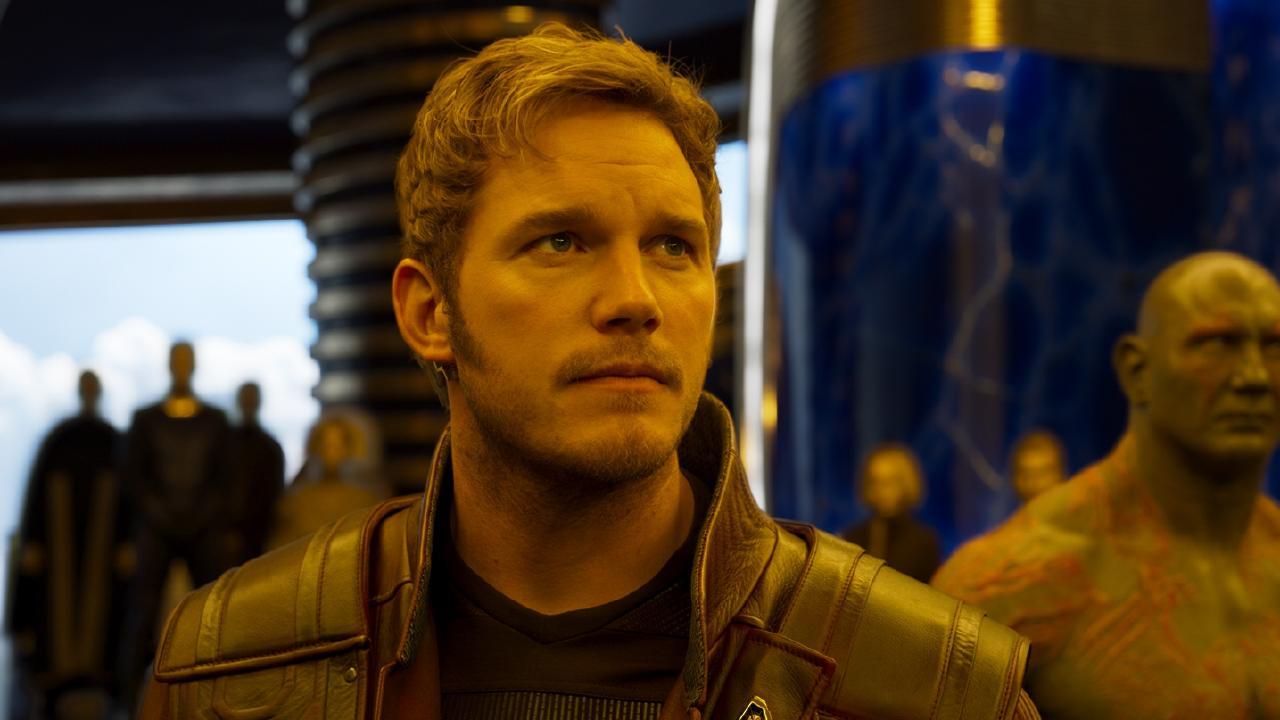 Chris Pratt in Guardians Of The Galaxy Vol. 2.