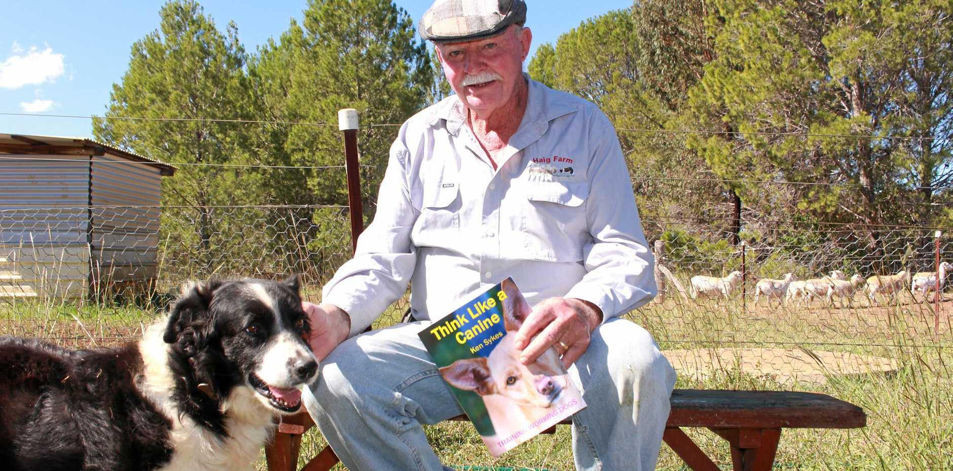 Mount Marshall dog expert Ken Skyes is calling for more education for farmers who train their own working dogs.