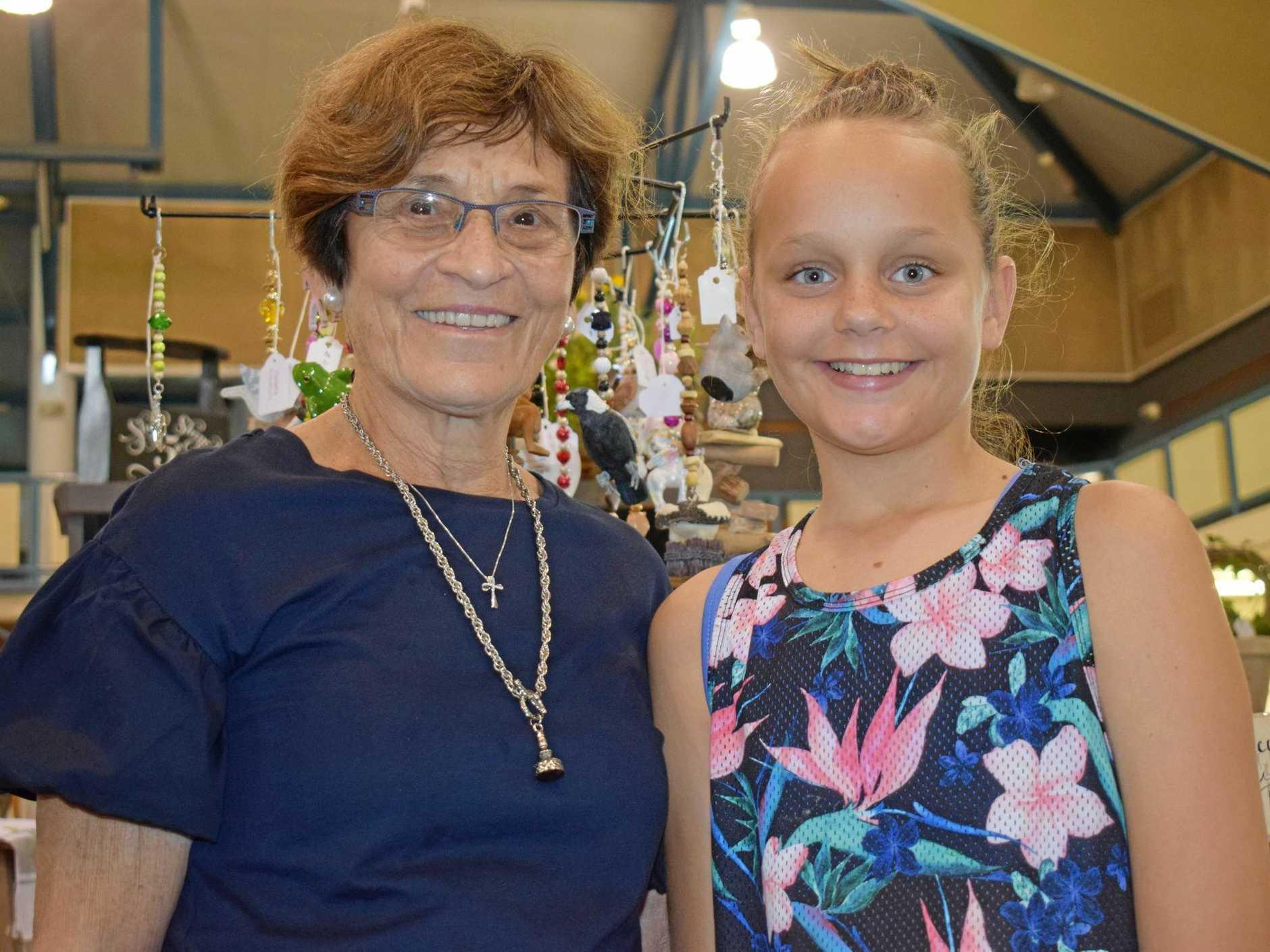 Judy Nahrung and Chloe Leech.