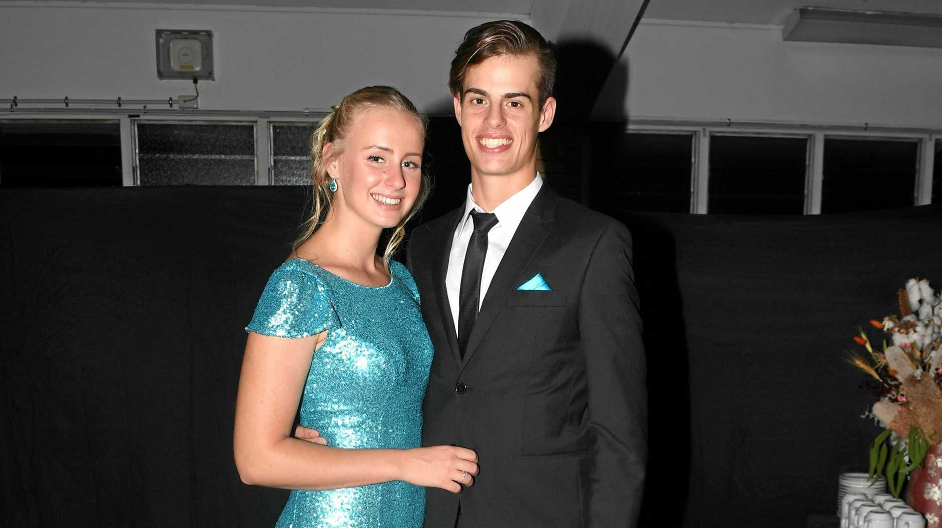 Gympie Show Ball - Brookelynne Davies and Caleb Harris