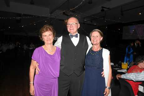 Gympie Show Ball - Trish Tweed, Peter Tweed, Anette Bambling