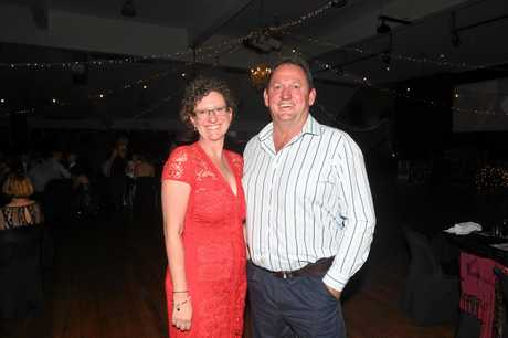 Gympie Show Ball - Jodi and Brian Coyne