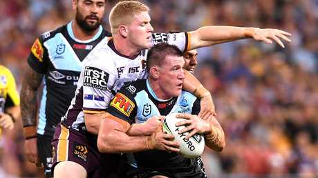 Gallen is still going strong at age 37. Picture: Bradley Kanaris/Getty Images