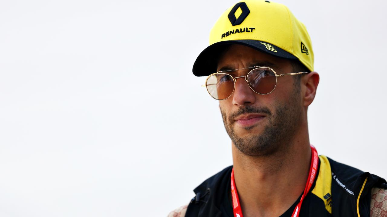 Daniel Ricciardo's weekend got off to a rough start. Picture: Getty