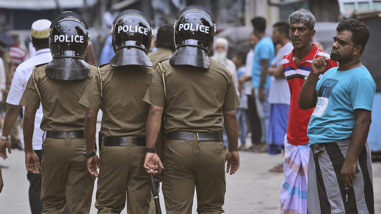 Sri Lankan police have locked down the city of Colombo following the Easter bombings.