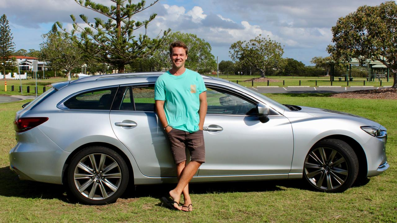 Lincoln Lewis is a Mazda ambassador.