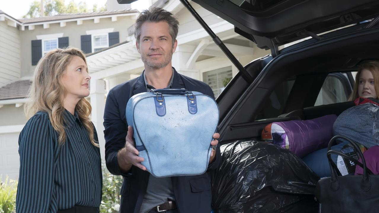 Santa Clarita Diet starring Drew Barrymore and Timothy Oliphant.