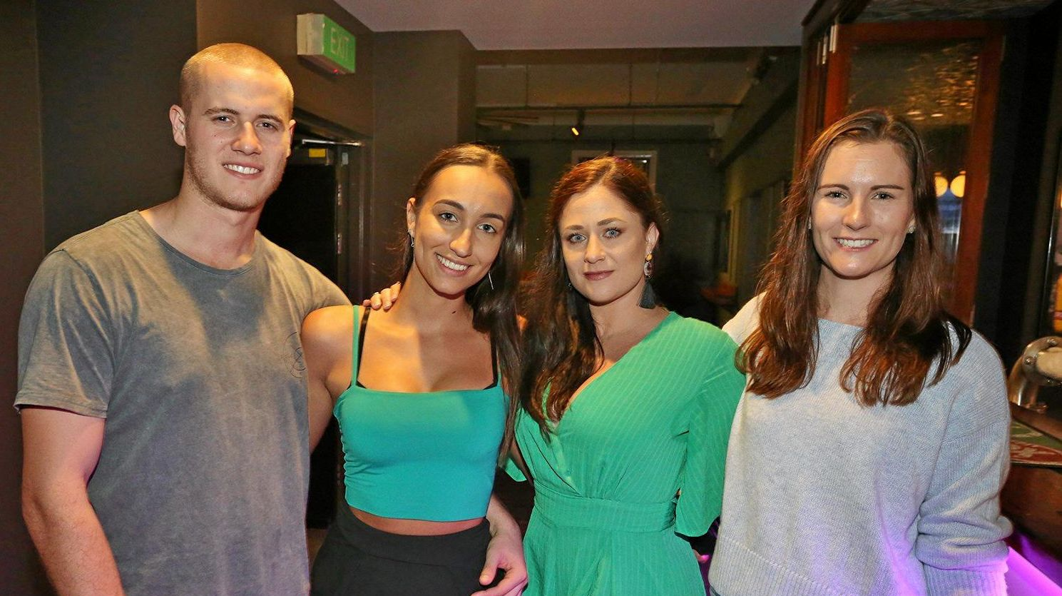 L-R Braden Fielding, Nikki White, Leah Bray and Tricia Krienke at The Heritage Hotel.