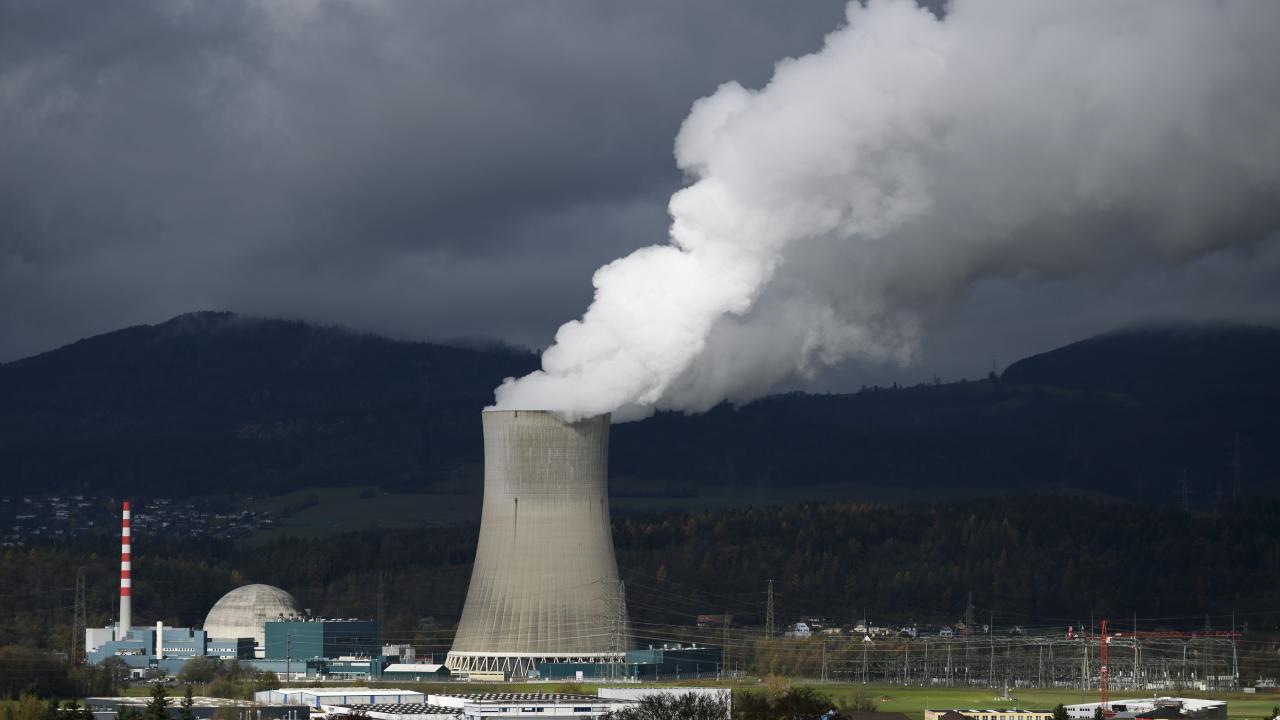 The Goesgen Nuclear Power Plant near Daeniken, Northern Switzerland. Picture: AFP
