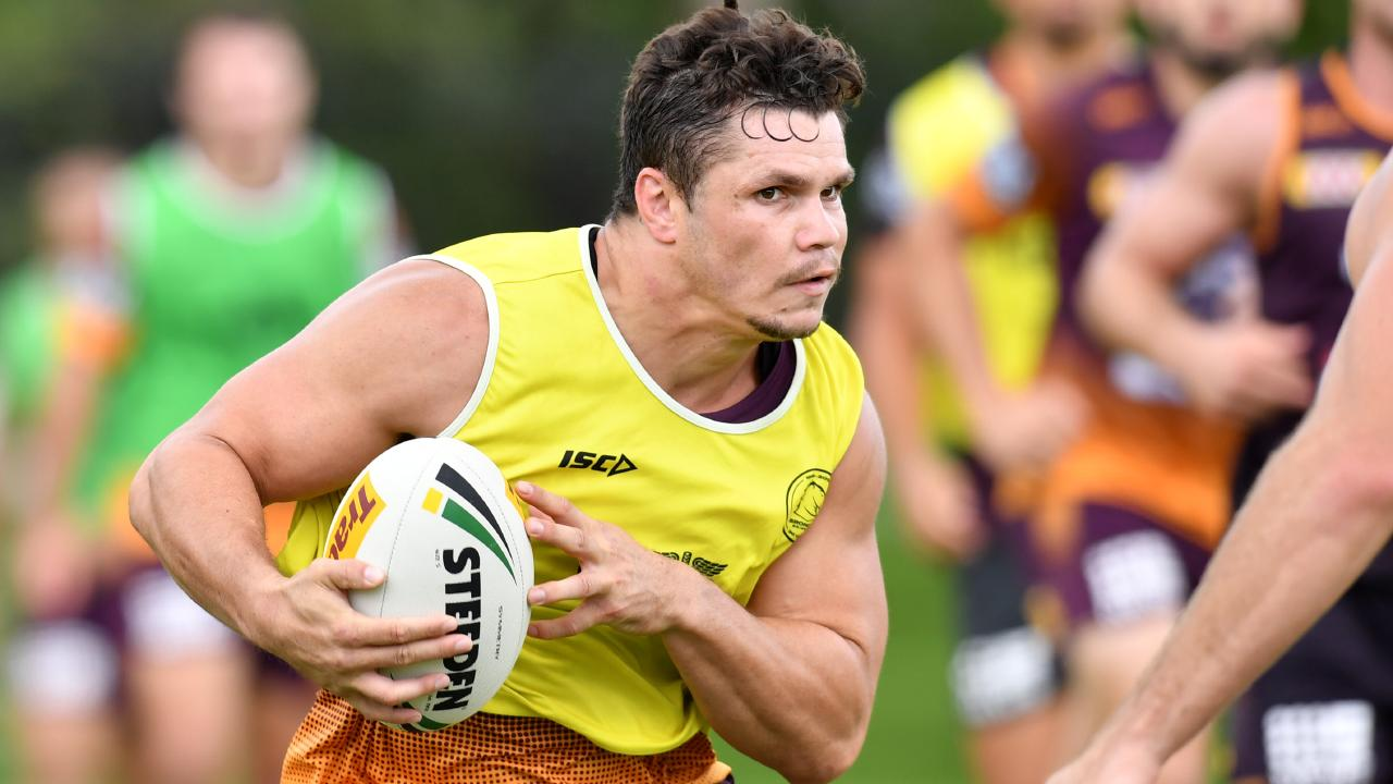 James Roberts could be on his way out of the Broncos soon. Picture: AAP