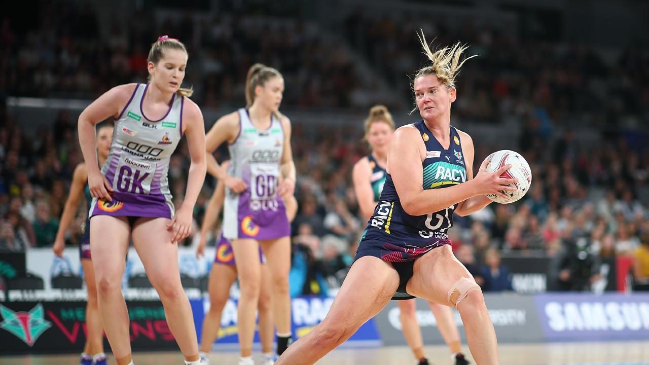 Melbourne Vixens goalscoring machine Caitlin Thwaites