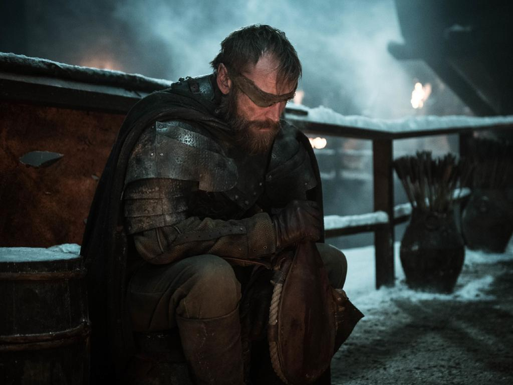 Richard Dormer as Beric Dondarrion in a scene from episode 2 of season 8 of Game Of Thrones. Picture: Supplied/HBO