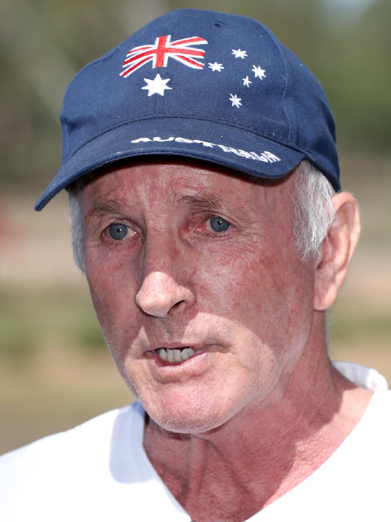 Jim Savage from the True Blue Conservative Queensland Party. Picture: Nigel Hallett