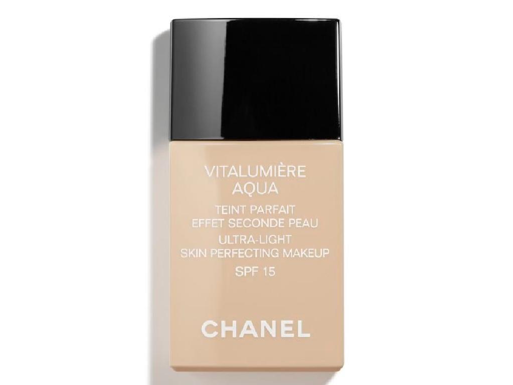 Chanel Vitalumière Aqua Foundation.