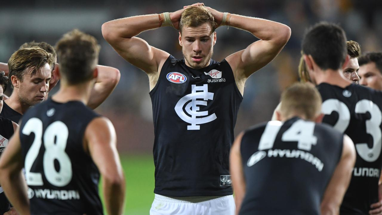 A poor third quarter came back to haunt the Blues. Picture: AAP Images