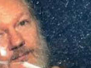 Julian Assange's dad's shock