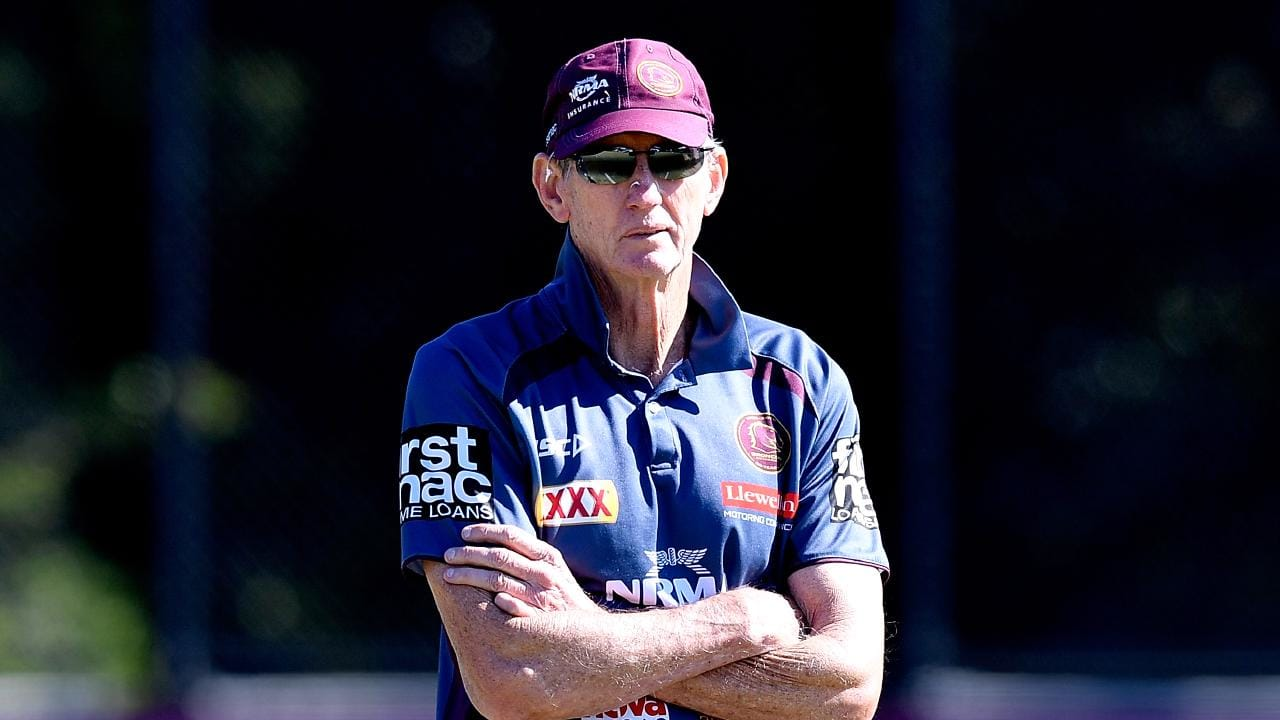 Wayne Bennett has revealed what was going on behind the scenes at the Broncos. Picture: Bradley Kanaris/Getty Images