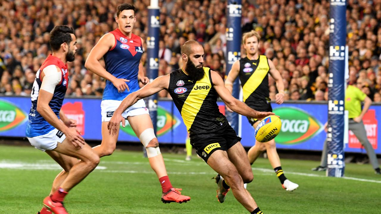 Bachar Houli continues to dominate for the Tigers. Picture: AAP Images